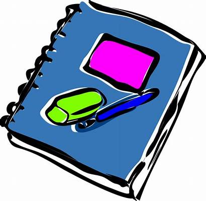 Notebook Journal Eraser Pen Pencil Vector Pixabay