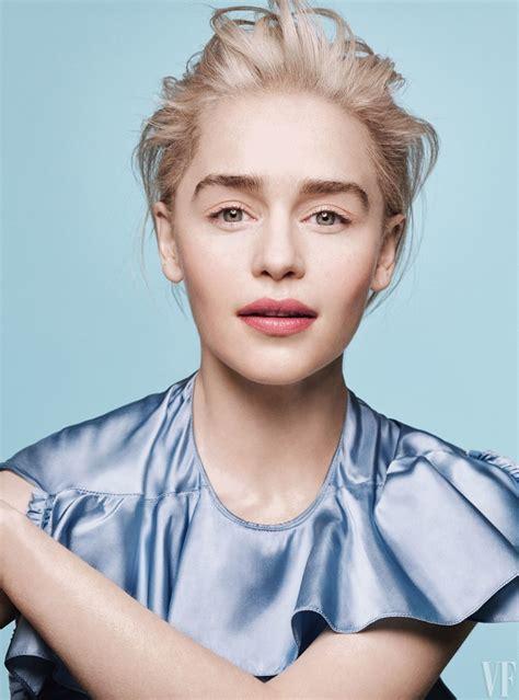 Emilia Clarke   Vanity Fair   2018 Cover Photoshoot ...