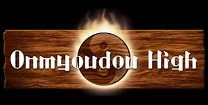 Onmyoudou high logo by noheart walls on deviantart for Onmyoudou