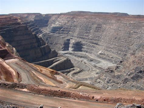 Open Pit by Dirt Blue Seas And White Sands Smiffy S Big Road Trip