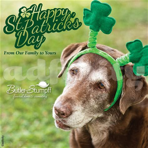 Happy St Patricks Day Meme - happy st patrick s day from our family to yours facebook adfinity