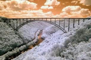 New River Gorge Bridge Winter