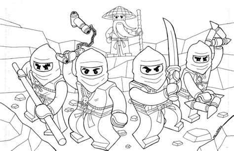 coloriage ninjago gratuit  imprimer liste