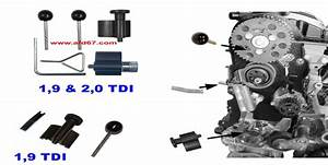 Calage Distribution 1 9 Tdi 105 : tuto kit calage courroie distribution vw audi seat skoda 1 9l d tdi youtube ~ Gottalentnigeria.com Avis de Voitures