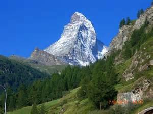 Matterhorn Mountain Zermatt Switzerland