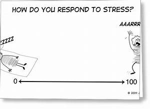 Stress Scale Drawing by Judy Nelson