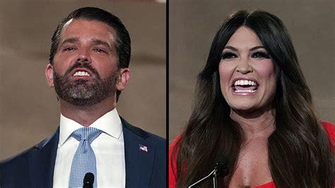 trump jr donald rnc convention republican night gop national biden girlfriend guilfoyle kimberly kim beijing calls