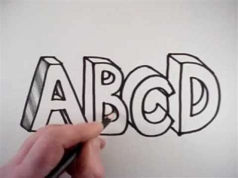 draw  letters     youtube