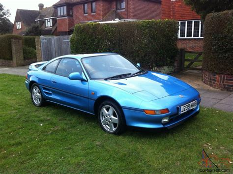 1992 Toyota Mr2 by 1992 Toyota Mr2 Gt Blue 53000