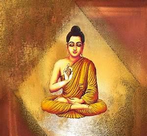 Buy Affordable Art India Canvas Art Of Lord Gautam Buddha