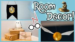 DIY Harry Potter Room Decorations! - YouTube