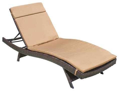 sun chaise lounge chairs lakeport outdoor adjustable chaise lounge chair caramel contemporary sun loungers by