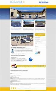 Solar Website Design, Vista CA - Jewel Web & Design