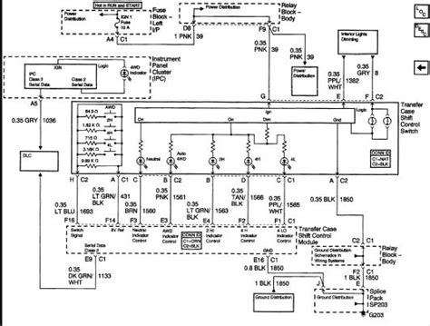 Need Wiring Harness Diagram For Transfer Case