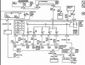 I Need A Wiring Harness Diagram For Transfer Case On A 2002 Silverado 2500hd 6 6l Duramax Tranny