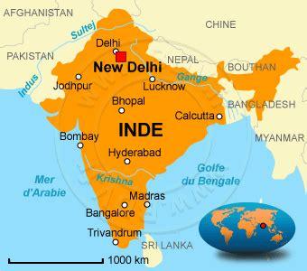 Carte Du Monde Inde by Vol Inde R 233 Servation De Billet Avion Inde Au D 233 Part De