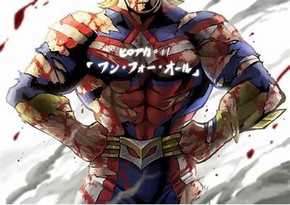 Might Hero Academia Anime Wallpapers Boku Toshinori