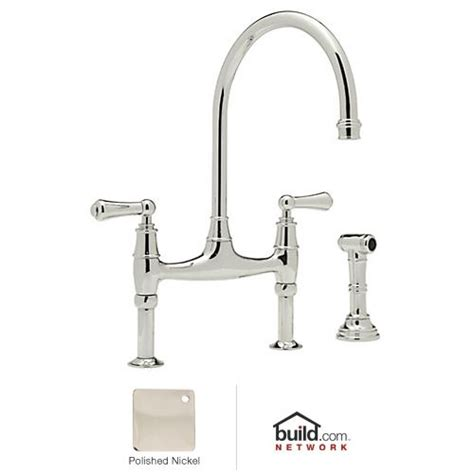 rohl    polished nickel perrin  rowe  lead