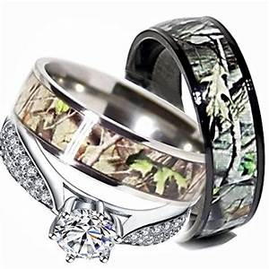 24 best images about for the love of camo on pinterest With female camo wedding rings
