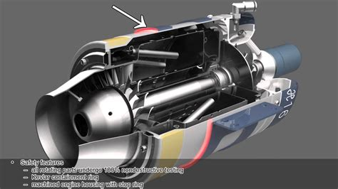 Rc Jet Boat Turbine by Hybl Turbines H16 Engine Introduction 3d Animation