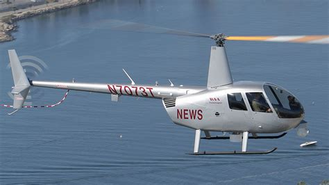 R44 Raven II Newscopter - Robinson Helicopter Company