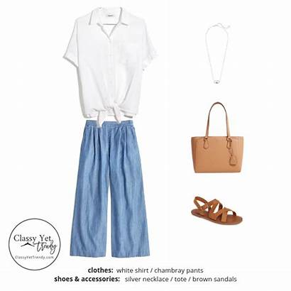 French Summer Wardrobe Capsule Minimalist Outfits Outfit