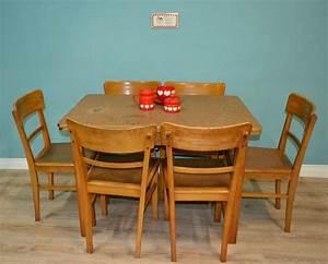 Vintage Möbel Küche : vintage 30er jahre gro er k chentisch holz e tisch frankfurter k che ausziehbar in m bel ~ Sanjose-hotels-ca.com Haus und Dekorationen