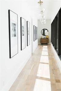 Deco Couloir Blanc : d co mur blanc en 24 id es originales pour la maison ~ Zukunftsfamilie.com Idées de Décoration