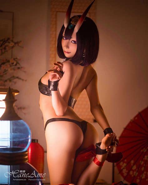 hane ame as shuten dji fate grand order cosplay hot sex