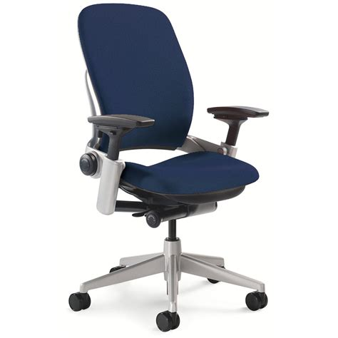 steelcase leap v2 used task chair blue national office