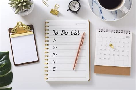 How to Make an Effective To-Do List   Openfit