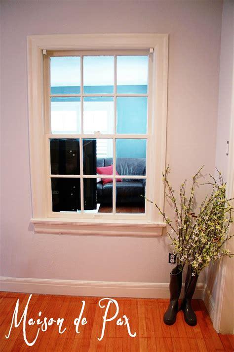 gray area painting trim maison de pax