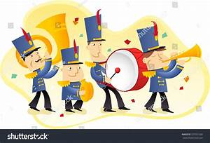 Marching Band Illustration Stock Vector 225551500 ...