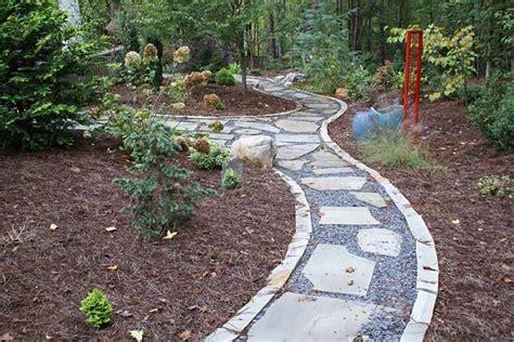 gravel sidewalk ideas walkway ideas