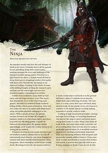 Dnd 5e Homebrew Ninja Rogue By The Singular Anyone D D