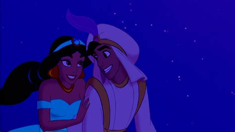 The real life Jasmine and Aladdin performing A Whole New