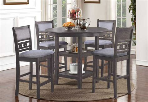classic gia grey  counter height table