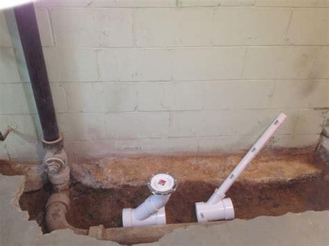 basement shower drain air admittance valve in basement bathroom plumbing diy 1498