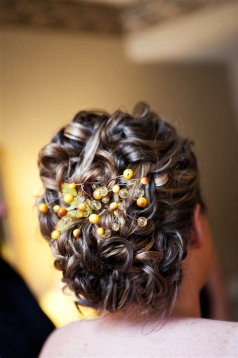 feminine fall wedding hairstyles weddingomania
