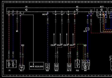 mercedes wis wiring diagram mercedes