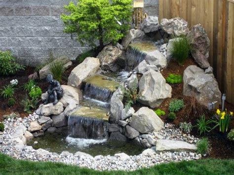 small waterfalls backyard small garden waterfalls prefab waterfalls small backyard ideas small backyard waterfalls ideas