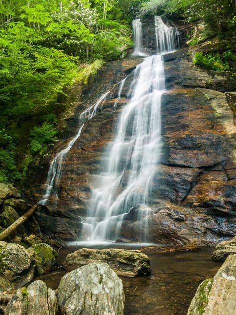 Hiking in Pisgah National Forest, NC