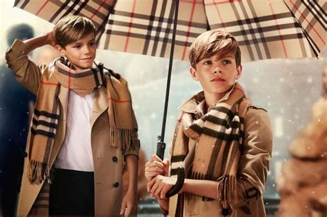romeo beckham 12 paid 163 45 000 for one day s work on new burberry caign mirror
