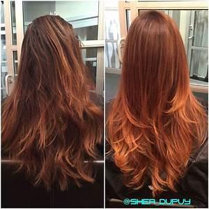 Ombré Hair Auburn : 25 best ideas about auburn balayage on pinterest red brunette hair auburn ombre and brunette ~ Dode.kayakingforconservation.com Idées de Décoration