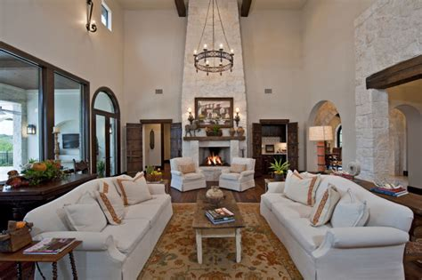 global decor works in this santa barbara style home
