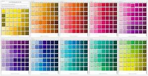 5 Printable Pantone Color Charts For Word And Pdf