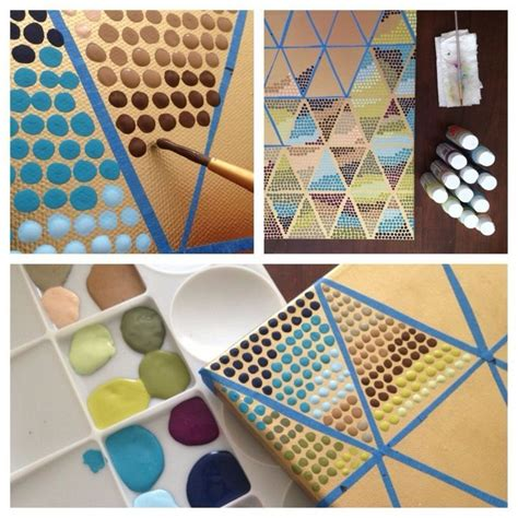 Painting Ideas Diy by Learn The Basics Of Canvas Painting Ideas And Projects