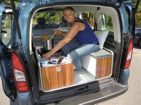 auto schlafen umbau cing module for smaller vans cing mini wohnmobil