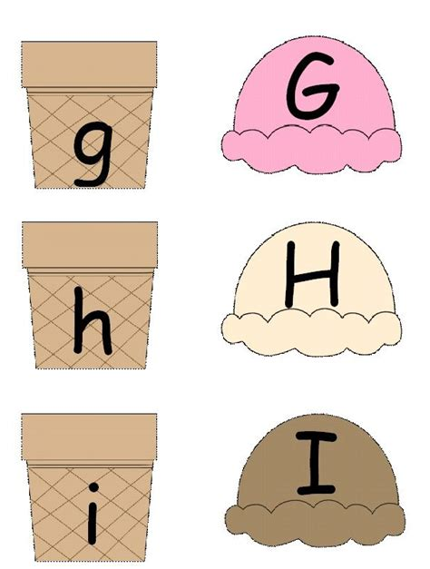 Printable Upper And Lowercase Letter Matching Games