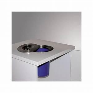 Poubelle De Plan De Travail : poubelle de plan de travail 8 litres inox bross ~ Melissatoandfro.com Idées de Décoration